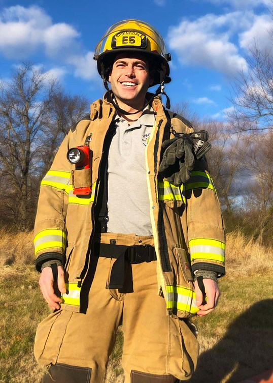 Firefighter Receives LASIK Tony